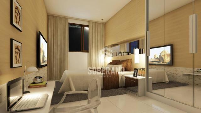 Apartamento com 3 dormitórios à venda, 78 m² por R$ 377.266 - Bancários - João Pessoa/PB - Foto 14