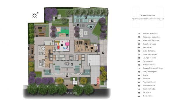 Apartamentos de 186 m² com 3 ou 4 suítes - ótima localização no campo Belo - SP - Foto 17