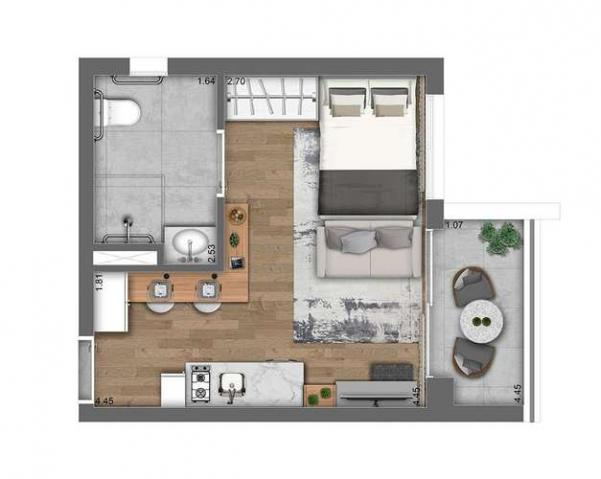 Studios e 1 dormitório - ao lado da estação Oscar Freire - Pinheiros, SP - Foto 20