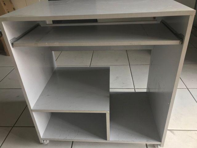 Mesa para computador cinza - Foto 5