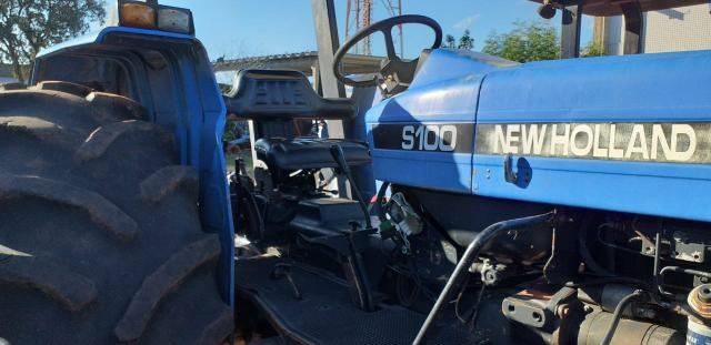 Trator New Holland 7630 4x4 ano 2004/2005