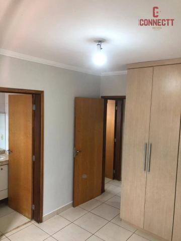Apartamento com 2 dormitórios para alugar, 73 m² por R$ 1.300/mês - Jardim Botânico - Ribe - Foto 12