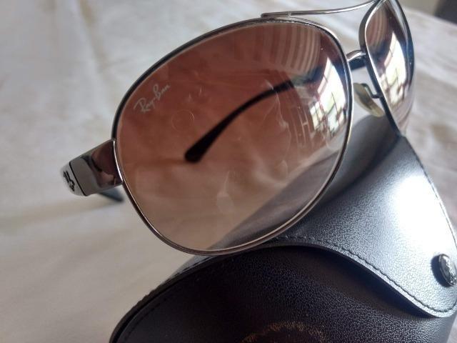 Óculos de Sol Ray Ban Aviador Original USA Modelo 004/13 - Foto 2