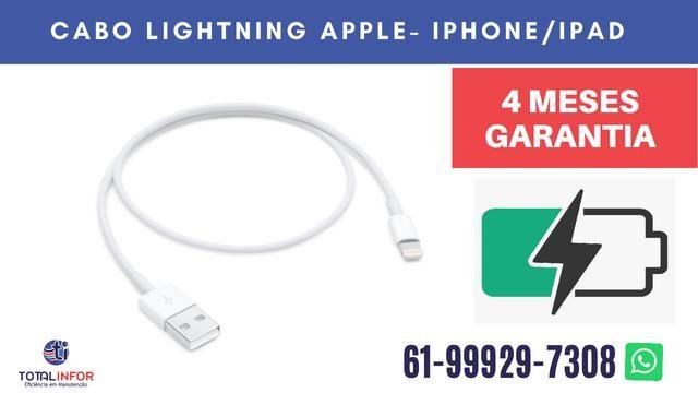 Cabo Usb iPhone X, 5, 6, 7 ou 8 OEM com 120 dias de Garantia - Foto 3