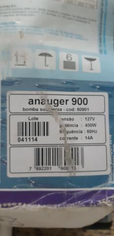 Bomba Anauger 900 127v nova - Foto 3
