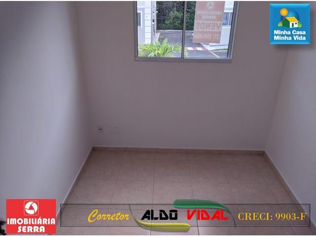 ARV 96 Apartamento Novo 2 Quartos, Condomínio Club. Carapebus, Serra - ES - Foto 8