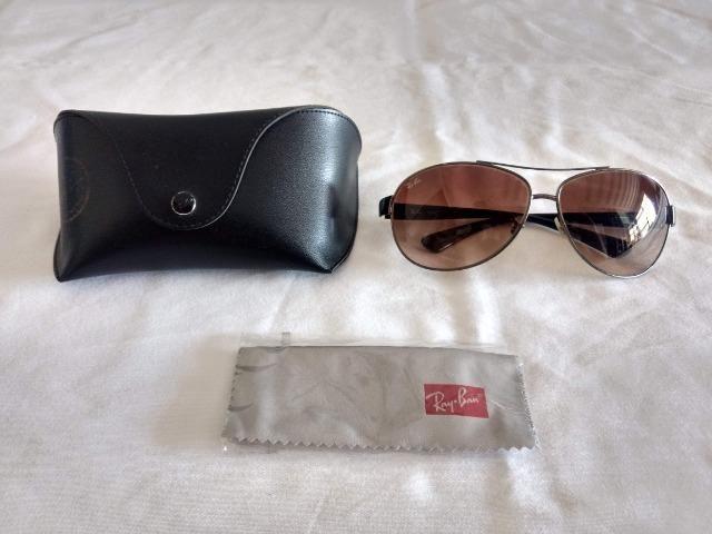 Óculos de Sol Ray Ban Aviador Original USA Modelo 004/13 - Foto 6