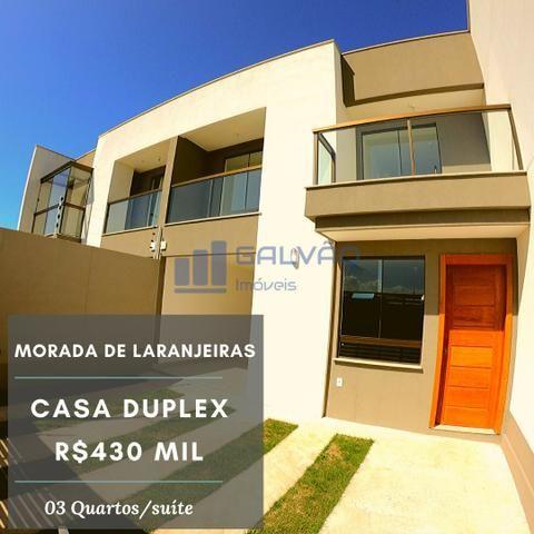 JG. Casa duplex de 3 quartos com suíte em Morada de Laranjeiras - Foto 19