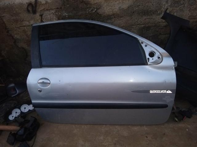 Portas Peugeot 206 duas portas - Foto 2