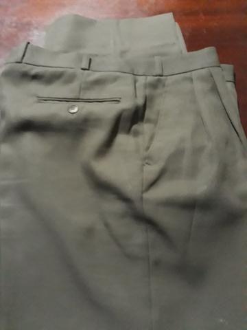 Calças social masculinas Tam 42 - Foto 3