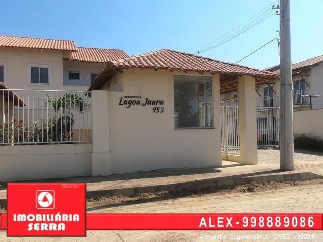 ALX - 106 Casa com Piscina - Troque seu Aluguel por uma casa de 2 Quartos novinha