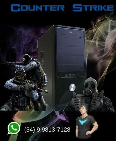 PC Gamer Core2Quad Q6600 - Troco e Passo Cartão