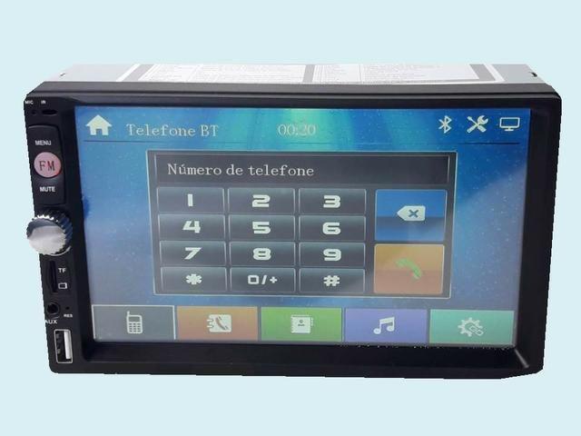 Multimídia Cobalt Prisma Spin Ônix Vectra Meriva Montana Corsão Novo GPS Por Espelhamento - Foto 3