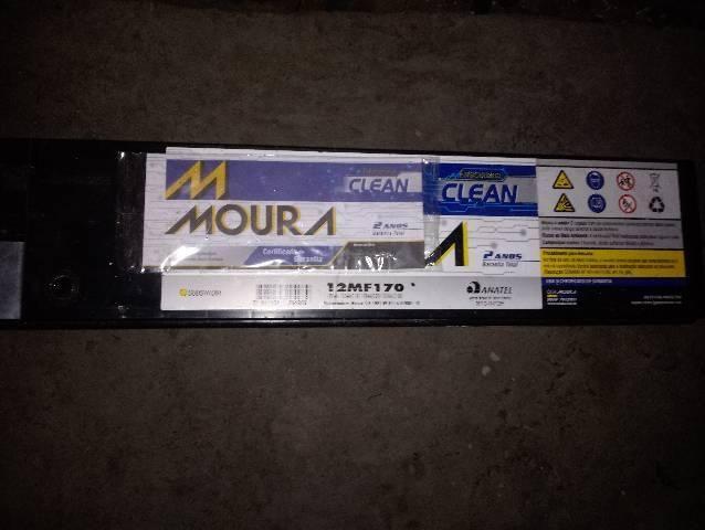 Bateria estacionaria moura 170 amperes. 450 reas aceito cartão