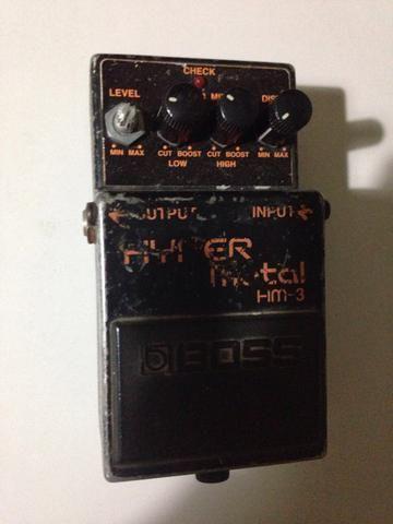 Pedal Guitarra Boss Hyper Metal HM-3 - Foto 2