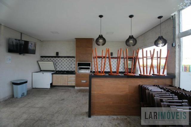 Apartamento de 2 quartos/suíte, sol da manhã, Condomínio Villagio de Manguinhos - Foto 9