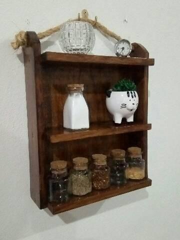 Fabricamos móveis e peças decorativas, com paletes ,sob encomenda - Foto 5