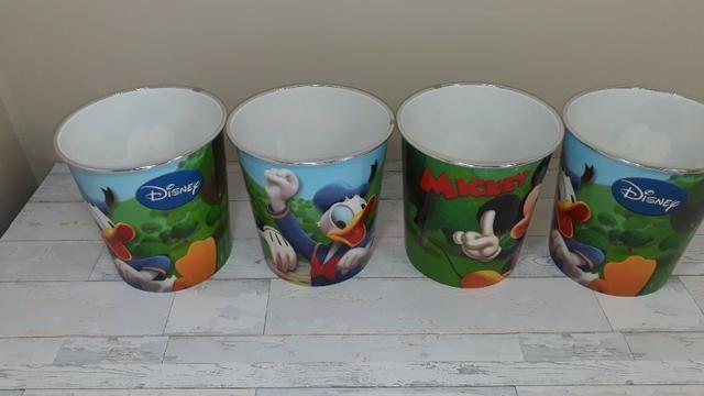 Potes do Mickey - Novos - sem uso - 04 peças - Foto 4