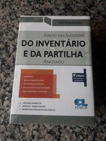 DTO DAS SUCESSÕES - DO INVENTÁRIO E DA PARTILHA - ANOTADO - 4. ED.