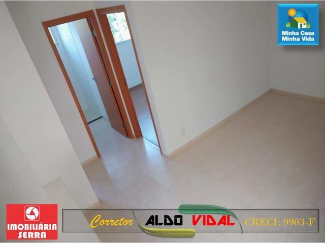 ARV 96 Apartamento Novo 2 Quartos, Condomínio Club. Carapebus, Serra - ES - Foto 5