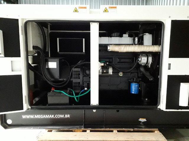 Gerador de Energia Diesel 65kva, Silenciado e Automático - Pronta Entrega - Foto 2