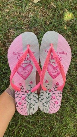 Sandálias havaianas - homenagem dia das mães