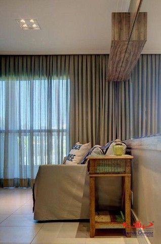 Apartamento todo MOBILIADO com 1 dormitório à venda, 39 m² por R$ 380.000 - Capuan - Cauca - Foto 4