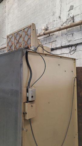 Cabine de pintura Eletrostática  - Foto 2