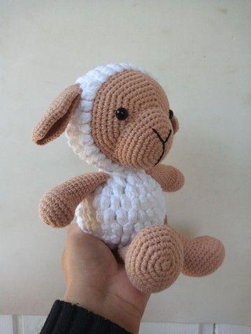 Ovelha amigurumi - Foto 2
