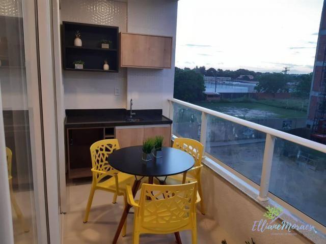 Apartamento à venda, 73 m² por R$ 288.115,00 - Centro - Eusébio/CE - Foto 5