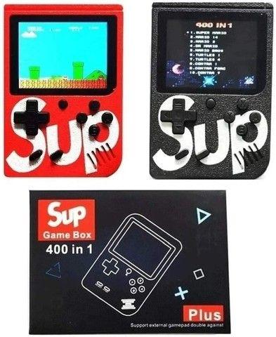 mini game portatil retro com 400 jogos