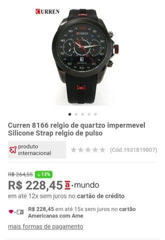 Relógio original curren  - Foto 2