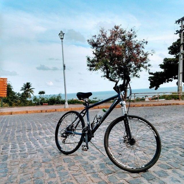Bike aro 26 troco uma guitarra e amplificador  - Foto 2