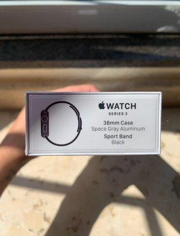 Apple Watch Series 3 38mm Lacrado na Caixa - Foto 3