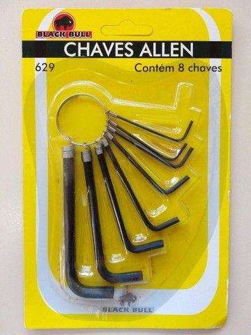 Kit chave Allen c/08 unidades - Foto 2