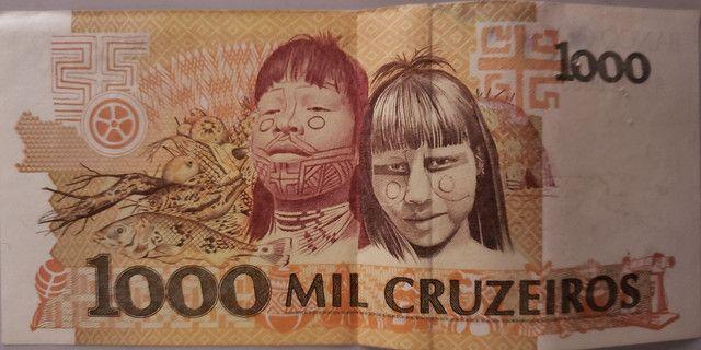 Nota de 1000 Cruzeiros para colecionadores - Foto 2