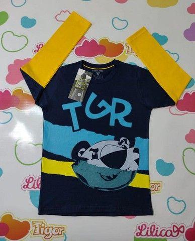 Camiseta Manga Longa Tigor - Foto 4