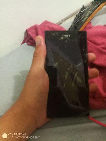 celular Sony Xperia para retirada de peças
