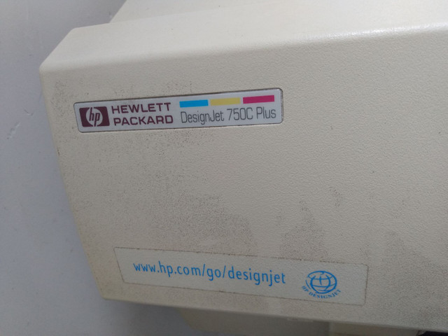 Plotter HP Hewlett Packard Design Jet 750C Plus - Foto 4