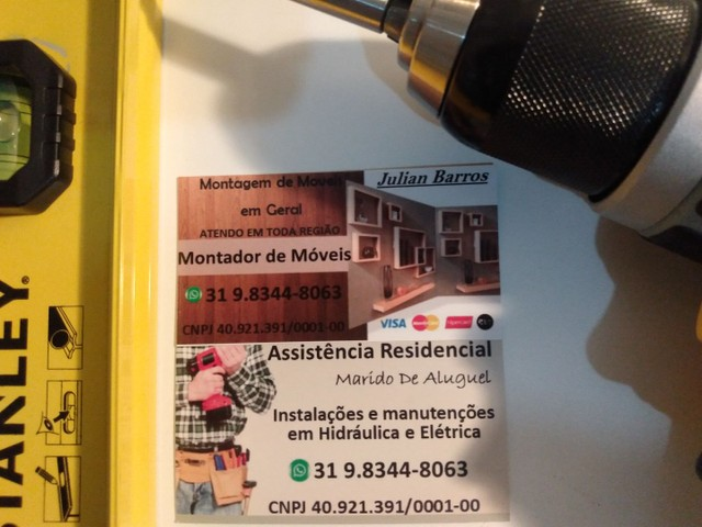 Montador de móveis em Belo Horizonte Contagem Betim Sarzedo