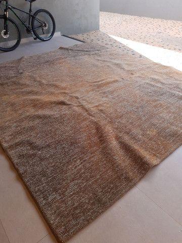 Tapete marron mesclado 3,20x 3,50 - Foto 2