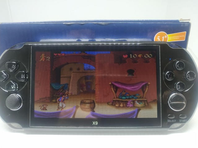 Vídeo game portátil com mil jogos  - Foto 5