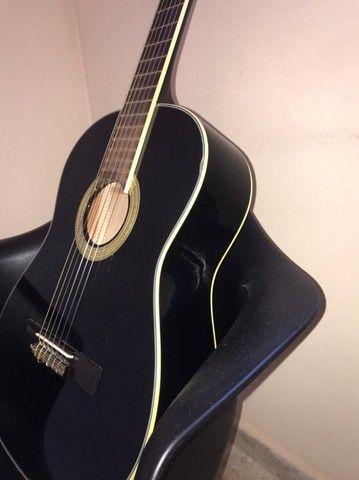 Vendo violão Eagle modelo DH69-BK - Foto 2