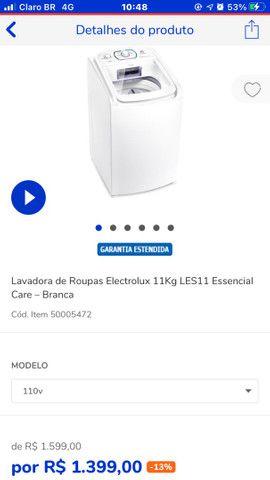 Máquinas de lavar com preço ótimo Casas Bahia  - Foto 2