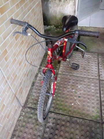 Bicicleta homen aranha de menino aro 16 toda boa - Foto 2