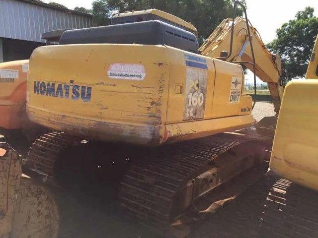 Escavadeira Hidraulica Komatsu Pc 160, Ano 2011 - Foto 3