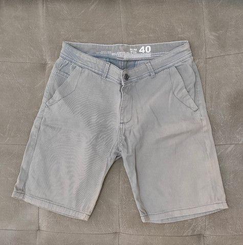 Bermuda masculina 40