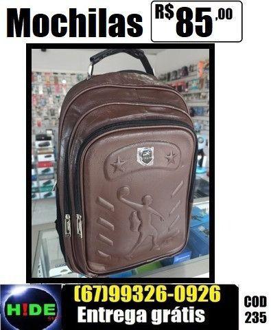 Mochilas Couro Sintético Basketball (entrega sem taxa)