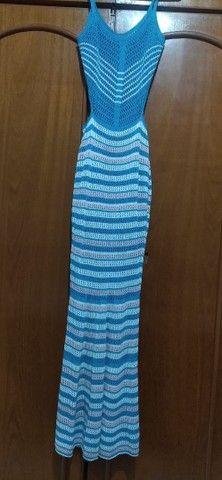 Vestido Longo Tricot