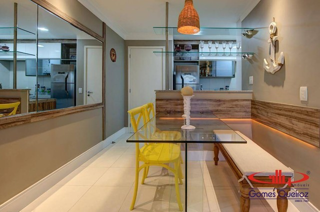 Apartamento todo MOBILIADO com 1 dormitório à venda, 39 m² por R$ 380.000 - Capuan - Cauca - Foto 17